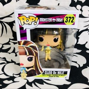5 for $25| Funko POP Monster High Cleo De Nile